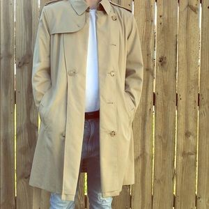 Luxury Men's Burberry Trench Coat